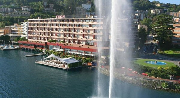 Grand Hotel Eden in Lugano (Switzerland)