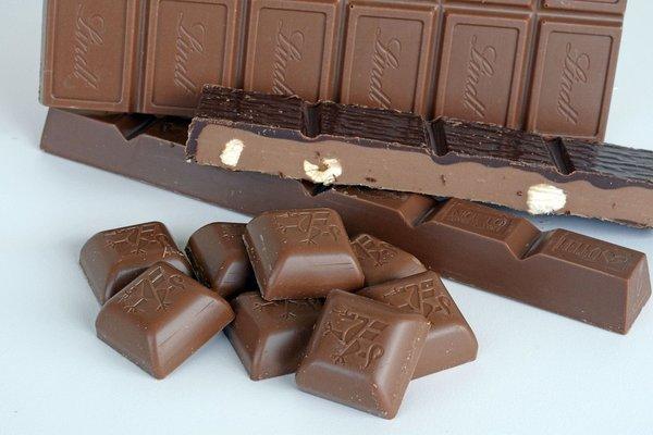 Lindt chocolate.  Lugano, Switzerland.