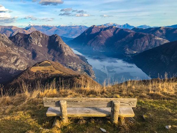 A view from Monte Boglia