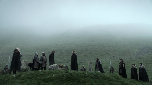 The location where Lord Eddard Stark beheads Will was filmed in Northern Ireland as well