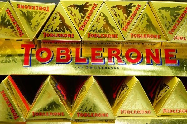 Matterhorn on Toblerone