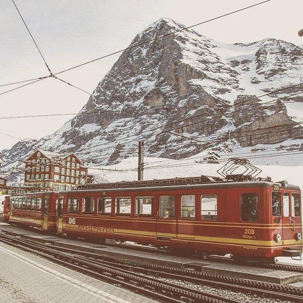 Eiger, Jungfraubahn