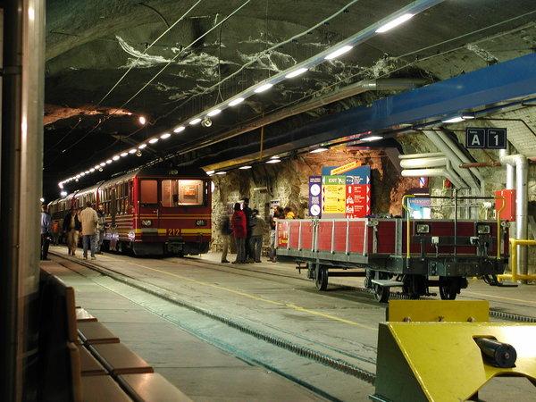 Bahnstation Jungfraujoch
