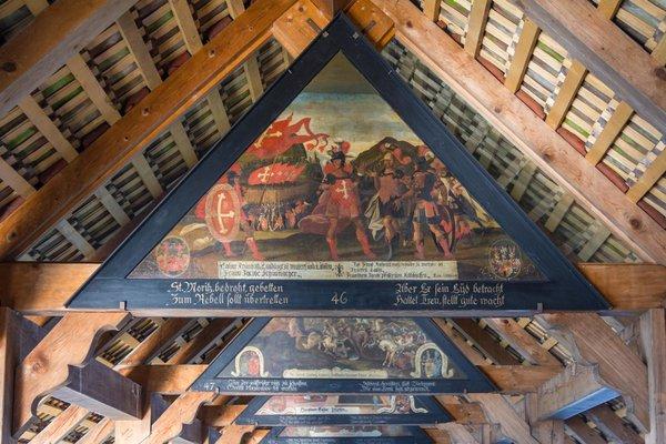 inside museum in lucerne