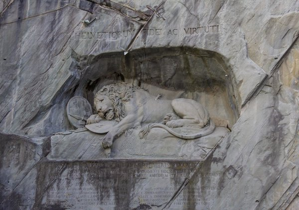 The Lion Sculpture of Lucerne.