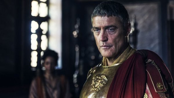 Vincent Regan portrays the role of Pilate