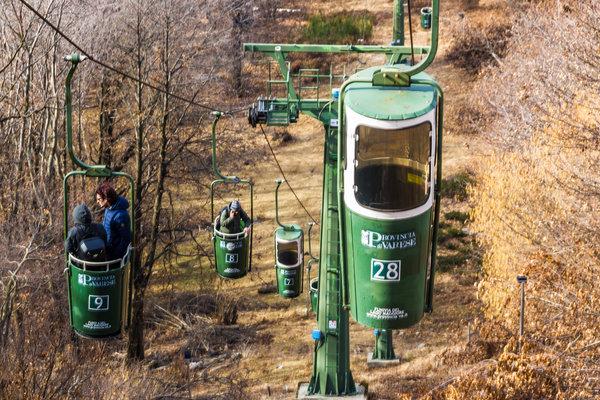 Lake Maggiore Bucket Lift
