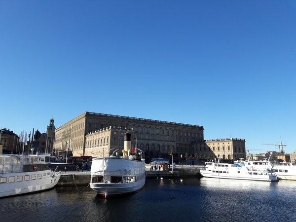 The Royal Palace with Storkyrkan at the back
