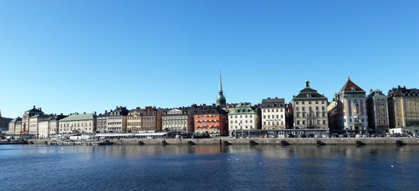 Gamla Stan, photo taken on the boat ride