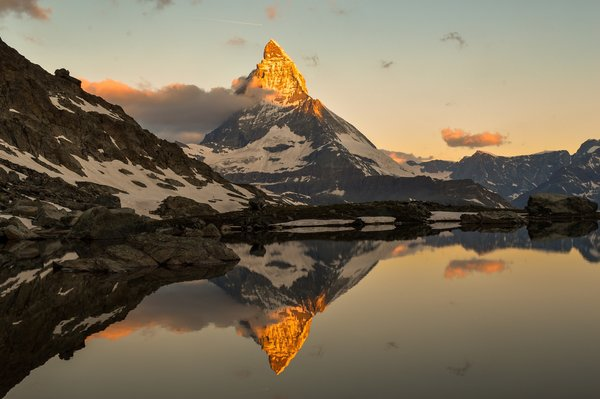 Matterhorn in full glory. Not exactly the bridge, I just fell in love enchanted with this photo by ricardoadelaide