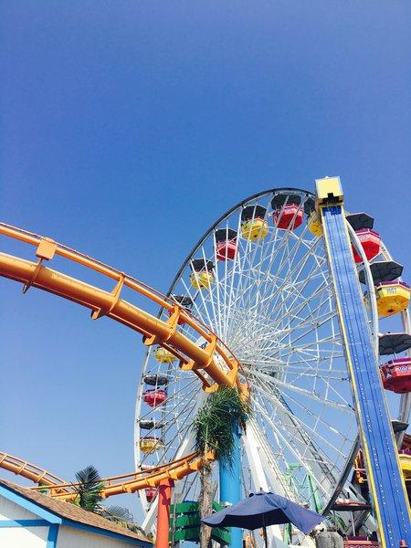 Ferris Wheel @ Santa Monica Pier