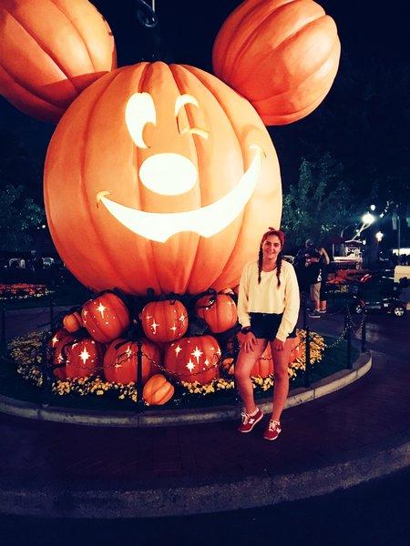 My Trip to Disneyland California during Halloween Season
