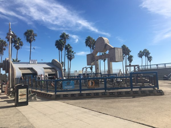 Work Out Zone at Venice Beach Boardwalk