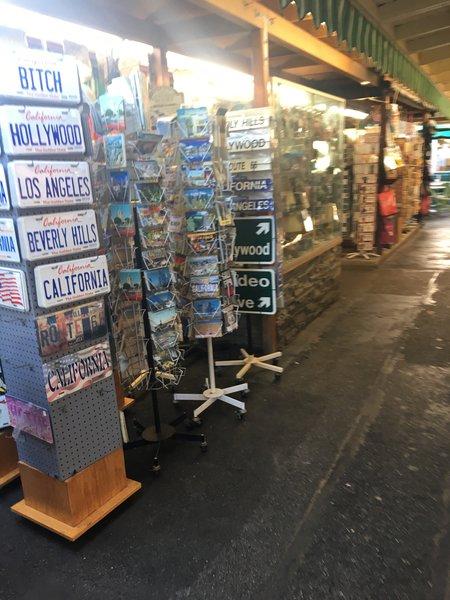 Souvenir Shop in Hollywood Walk of Fame
