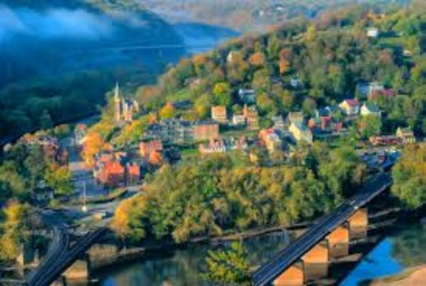 Harper's Ferry Picture from http://historicharpersferry.com