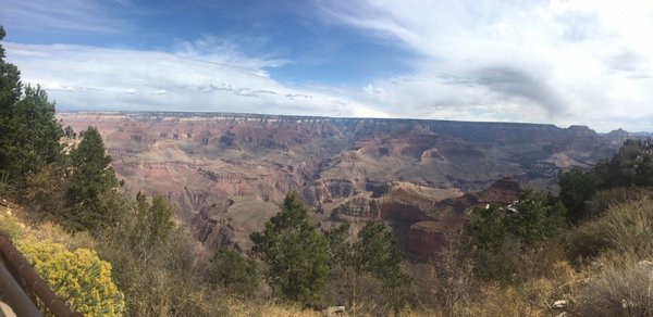 Breathtaking view of the Grand Canyon