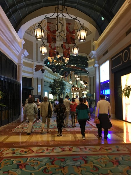 Shopping Gallery at the Bellagio Hotel
