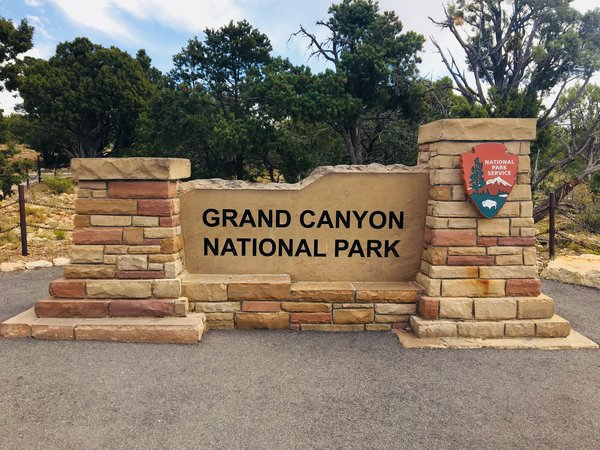 Grand Canyon National Park Sign