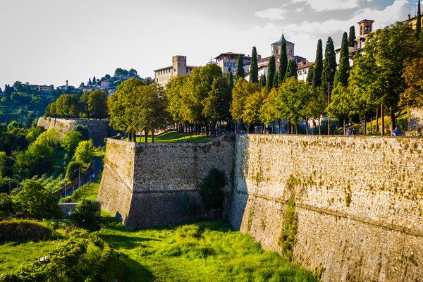 Bergamo's Venetian Wall