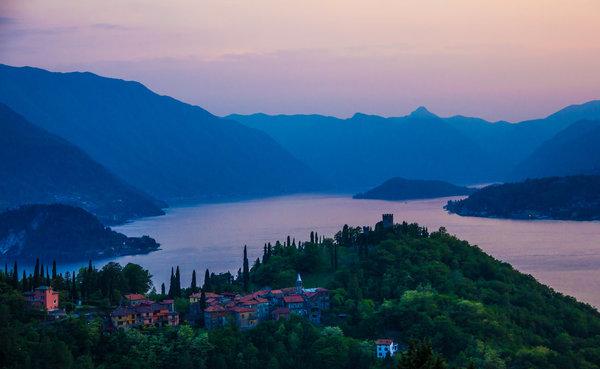 Castello di Vezio above Lake Como