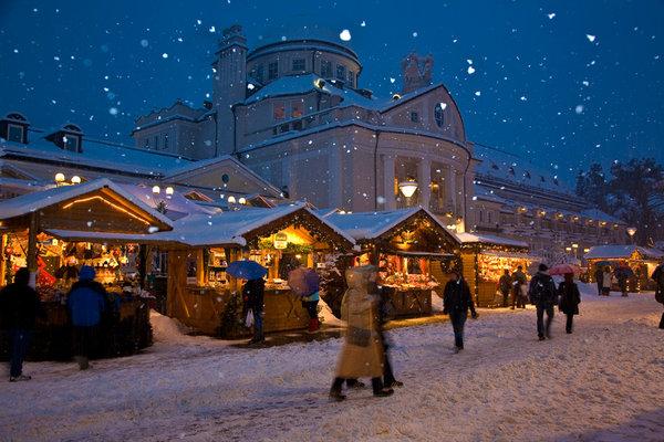christmas market merano italy