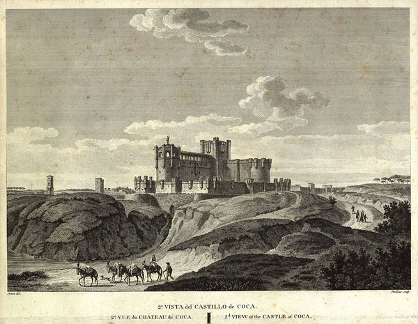 Coca Castle, Segovia