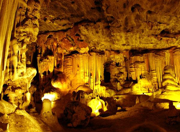 Map of Cango Caves, South Africa. (Photo Credit: Rakesh Nagda)