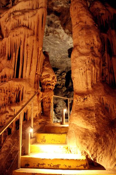 Map of the Cango Caves, South Africa. (Photo Credit: Rakesh Nagda)