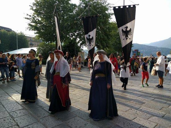Medieval Como festival Palio