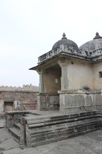 Temple inside the Kumbhalgarh Fort. (Photo Credit: Rakesh Nagda)