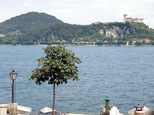 The Rocca Di Angera.  Lake Maggiore, Italy .