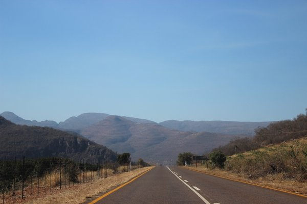 Views along the famous Blyde River Canyon Panorma Route - South Africa