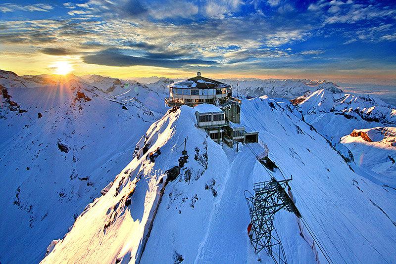 Alps 007 James Bond Shooting Locations