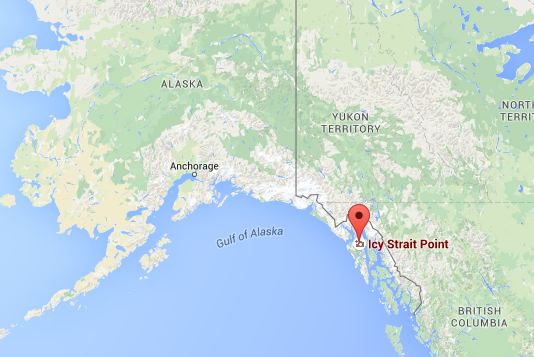 Icy Strait Point Alaska Map.Icy Strait Point