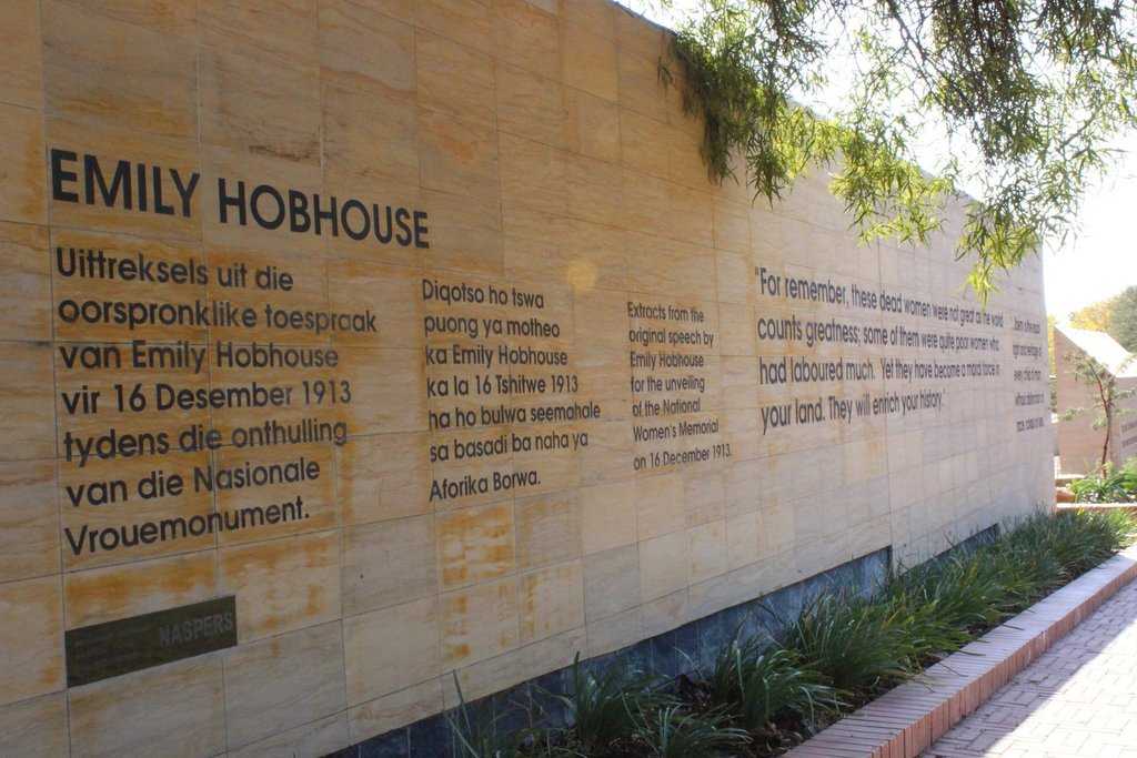Image result for EMILY HOBHOUSE WOMENS MONUMENT BLOEMFONTEIN